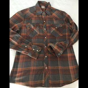Men's True Religion flannel shirt